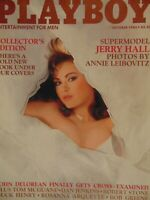Playboy October 1985 | Jerry Hall Cinthia Brimhall     #1385+