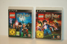 LEGO HARRY POTTER DIE JAHRE 1-4 + 5-7 _ SONY PLAYSTATION 3 _ PS3 _ 2 GAMES