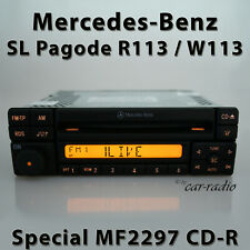 Original Mercedes Special MF2297 Cd-R R113 Radio Sl-Class W113 Pagode Car Radio