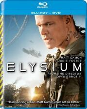 Very Good: ELYSIUM (Matt Damon/Jodie Foster) 2-Disc Blu-ray + DVD