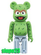 Medicom 100% Bearbrick ~ Sesame Street Be@rbrick Oscar The Grouch