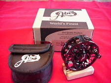 Abel Fly Reel New Sealed Disc Drag 6/7 Reel in BLACK GREAT NEW