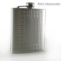 Stainless Steel Leather Flask Personalized Gift Multiple Flask Styles
