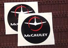 McCAULEY PROPELLER AIRCRAFT PROPELLER DECALS  set of two