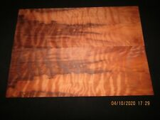 REDWOOD CURLY GUILTED GUITAR BOOK MATCH SET.....