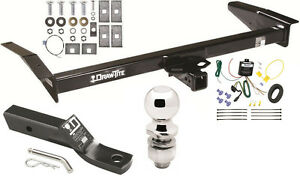 1998-2011 MERCURY GRAND MARQUIS COMPLETE TRAILER HITCH PACKAGE W/ WIRING KIT NEW