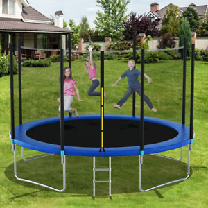 Trampoline Enclosure Net Safety Kids Spring Round Jumping Outdoor Bounce Jump