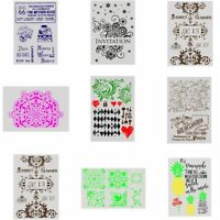 decorativo DIY Craft Sello Scrapbooking Plantilla Capas de plantillas Repujado