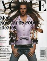 Vogue Paris February 2003 Eminem Nathalie Baye Helmut Lang 070519DBE