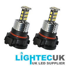 2X CANBUS 2000LM 30SMD PS19W AUDI A3 LED DRL WHITE SIDELIGHT BULBS H16 PSX24W