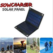 50W Solar Panel Folding Battery Charger Outdoor Camping Hiking Charging Treasure