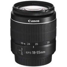 Canon EF-S 18-55mm f/3.5-5.6 III SLR Zoom Lens for Rebel SL1, SL2 & SL3 Camera