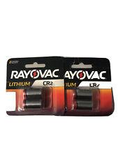 4 Rayovac Lithium Cr2 Batteries