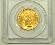 10 Dollars GOLD USA 1912 Indian Head Eagle PCGS MS62
