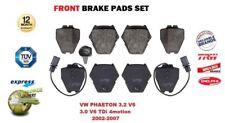 Für VW Phaeton 3.2 V6 3.0 V6 Tdi 4motion 2002-2007 Vordere Bremsbeläge