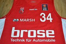 Matchworn Gameworn BROSE BASKETS BAMBERG Basketball BBL Trikot Jersey Y. IDBIHI