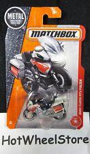 2017 Matchbox  BMW R1200 RTV Police Motorcycle  Card #78     MB11-082618