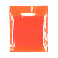 Coloured Plastic Carrier Bags Party Gift Bags ***Choose Color and Pack Size***