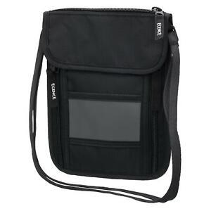 Brusttasche RFID Schutz Blocker Dokumententasche Reise Brustbeutel Hüfttasche