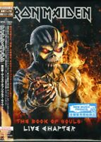 IRON MAIDEN-THE BOOK OF SOULS-JAPAN 2 CD+BOOK Ltd/Ed I19