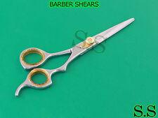 """BARBER SHEARS 7"""" W/HOLSTER RAZOR EDGE SCISSORS"""