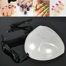 SUNUV Pro 48W Timing 30 LED UV Nail Lamp Led Nail Light Nail Dryer Fan Cooling