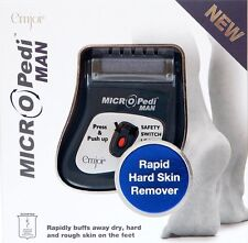 Emjoi MICRO Pedi Man Rapid Hard Dry Hard Skin remover, For dry skin on Feet, New