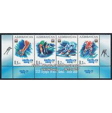 Aserbaidschan Azerbaijan 2014 - Olympische Wintersp. Sotschi, Streifen unten **