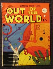 1960's OUT OF THIS WORLD Approved UK Comic #nn VG/FN 5.0 Amazing Space Tales