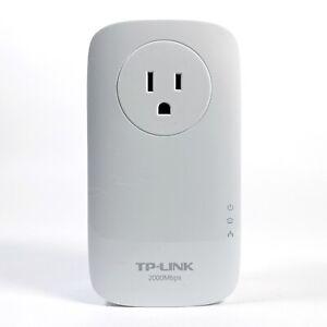 TP-Link AV2000 2-Port Gigabit Passthrough Powerline TL-PA9020P