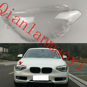 Right Side Clean Headlight Cover+Glue For BMW F20 1-Series Hatchback 2012-2014