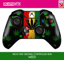 KNR3347 WEED PREMIUM XBOX ONE CONTROLLER SKIN DECAL STICKER