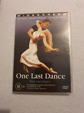 One Last Dance DVD