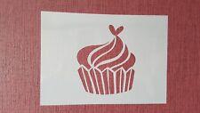 2324 Törtchen  Vintage Stanzschablone Textilgestaltung Wandbild Airbrush Stencil