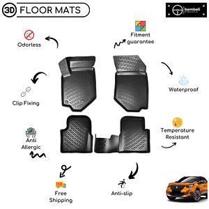 Custom Molded Rubber Floor Mat for Peugeot 2008 Suv 2020-Up (Black)