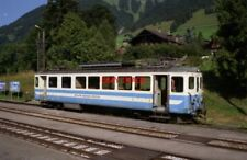 PHOTO  SWITZERLAND CH. D'OEX 1995 TRAM MOB 1003