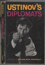 PETER USTINOV USTINOV'S DIPLOMATS FIRST EDITION PICTORIAL HARDBACK 1960