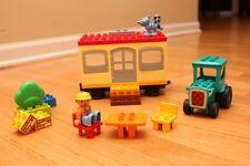 Lego Duplo 3296 Bob the Builder Travis and the Mobile Caravan Complete Set