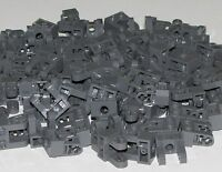 Lego Lot of 100 New Dark Bluish Gray Technic Brick 1 x 2 w/ Hole Dual Liftarms