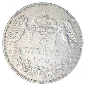 1900 Hungary 5 Korona - TC *861
