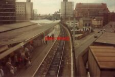 PHOTO  1989 MANCHESTER PICADILLY RAILWAY STATION FROM FOOTBRIDGE NEW WESTERN ROO