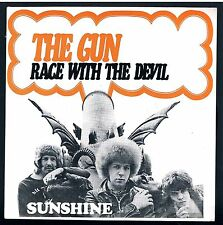 """THE GUN RACE WITH DEVIL/SUNSHINE 7"""" 45 GIRI"""