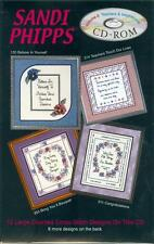 INSPIRATIONAL, SCHOOL & TEACHERS COLLECTION Cross Stitch Pattern Software CD-ROM