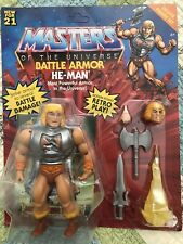 Masters of the Universe Origins Battle Armor He-Man Action Figure UNPUNCHED!