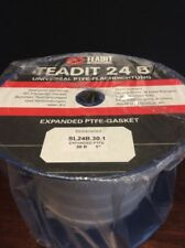 Teadit Expanded PTFE Gasket SL24B.30.1 Joint Sealant 30ft. 1 Inch Wide