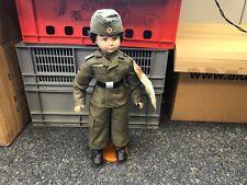 Glorex Bundeswehrsoldat Puppe 52 cm. Top Zustand