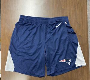 Nike New England Patriots Team Practice Shorts Men's Large