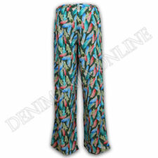 Pantaloni da donna harem a gamba larga taglia M