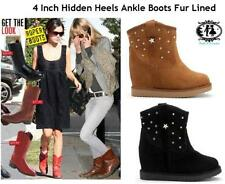 Fur Suede Ankle Boots for Women