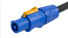PowerCON Blue to Edison Adapter- 6'